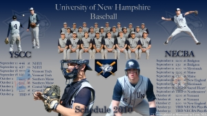 UNH Baseball Announces 2010 Schedule